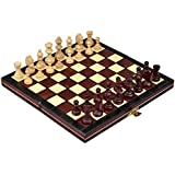 Continental Portable Magnetic Chess Set - Handcrafted in Poland Small [並行輸入品]