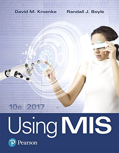 Download Using MIS (10th Edition) 013460699X