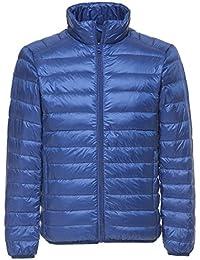 Faston ライト ダウン ジャケット メンズ 超軽量 カジュアル 防寒 暖かい 秋 冬 ウルトラライト コート 6NL-1