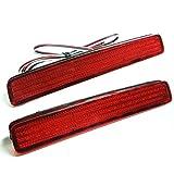 led リフレクター ブレーキ連動発光 反射板 ブレーキランプ ストップランプ テールランプ レッド プリウスα