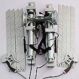 進撃の巨人 エレン ミカサ リヴァイ 立体機動装置 刀 ブレード*8 武器 調査兵団 コスプレグッズ 道具 (ブレード*8)