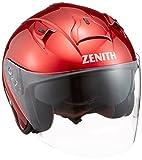 ヤマハ(YAMAHA) バイクヘルメット ジェット YJ-14 ZENITH 90791-2288L キャンディーレッド L (頭囲 59cm~60cm)