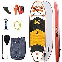 DEWBU スタンドアップパドルボード インフレータブル サーフボード サーフィン surfing SUP 釣り ヨガ スポーツ マリンスポーツ アウトドア 初心者向け 安定性抜群 持ち運び便利
