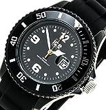 Ice-Watch アイスウォッチ シリコレクション シリコン 腕時計 (ブラック – レディース) [並行輸入品]