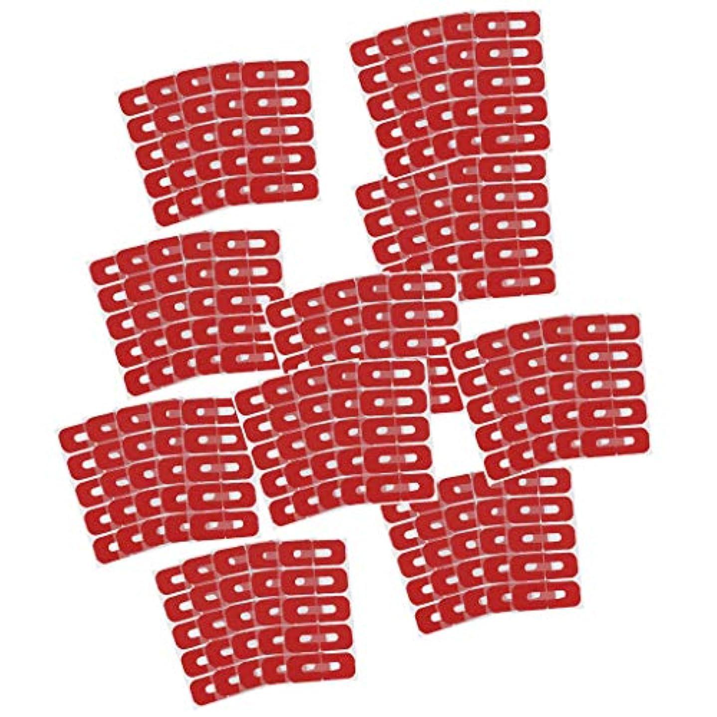 寝具持つ正確ネイルカバー はみ出し防止 ネイルケア 剥離テープ ネイルプロテクター ネイルサロン 全50点