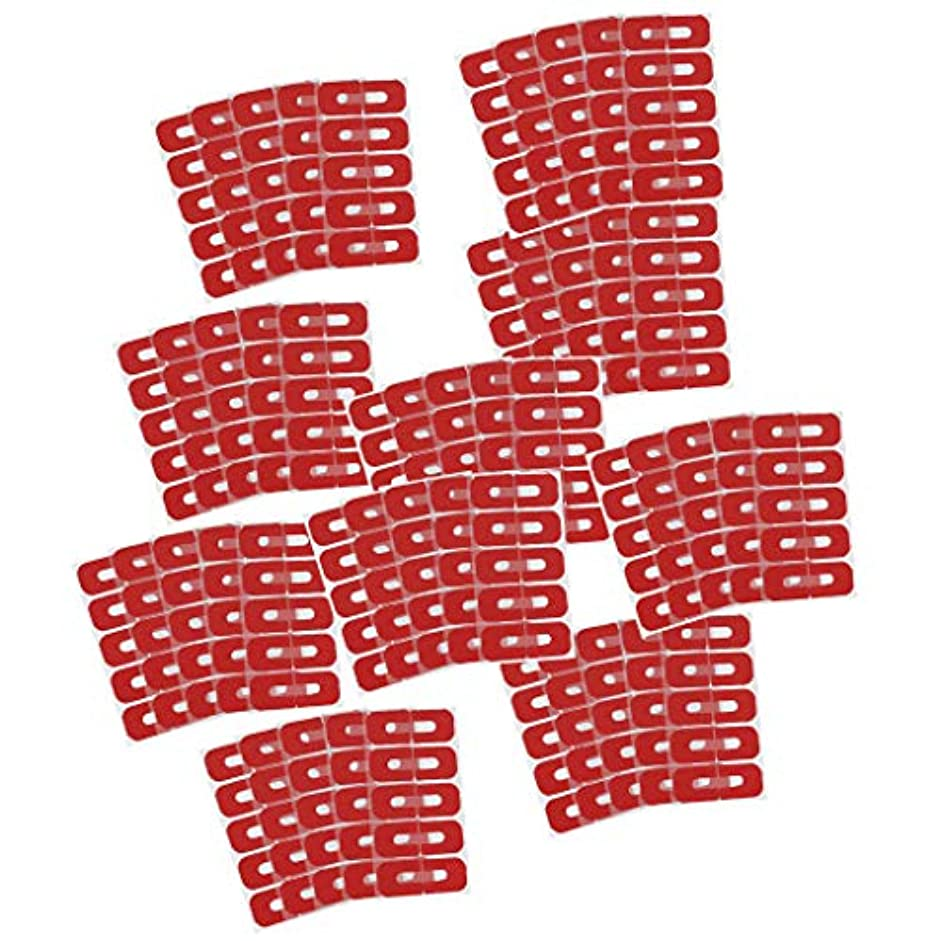 オーバーラン同封するスカープネイルカバー はみ出し防止 ネイルケア 剥離テープ ネイルプロテクター ネイルサロン 全50点