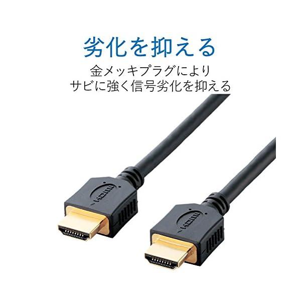エレコム HDMIケーブル ハイスピード 2....の紹介画像4