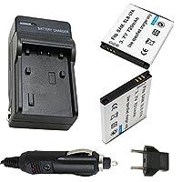 バッテリー( 2- Pack )と充電器for Samsung slb-07a充電式Li - Ionバッテリー