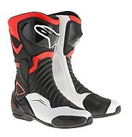 alpinestars(アルパインスターズ) バイクブーツ ブラック/レッドフロー/ホワイト (EUR 41/26.0cm) SMX6ブーツ 3017 1691460541