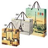 クラシックパリ 紙袋セット(フランス土産・海外土産)