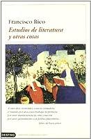 Estudios De Literatura Y Otras Cosas
