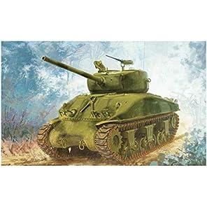 ドラゴン 1/72 第二次世界大戦 アメリカ軍 M4A1(76) W VVSSシャーマン プラモデル DR7571