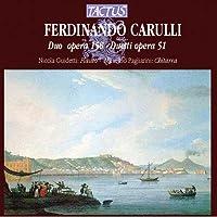 Carulli: Duo op, 58 Duetti op. 51