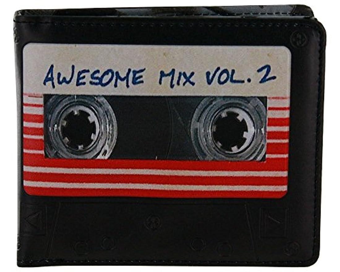 ドット修復編集するガーディアンズ?オブ?ギャラクシー:リミックス  最強ミックス  カセットテープ型 財布 ウォレット / GUARDIANS OF THE GALAXY Vol.2  AWESOME MIX  CASSETTE TAPE...