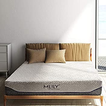 MLILY エムリリー 優反発 ポケットコイル ベッドマットレス 四層構造で未体験の寝心地 高反発 寝返り楽々 体圧分散 洗えるカバー 24cm厚 (セミダブル)