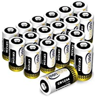 CR123A 18個 3Vリチウム電池 1600mAh Keenstone PTC保護付き 非充電式バッテリー カメラ マイク 懐中電灯 測光計 バイク 適用
