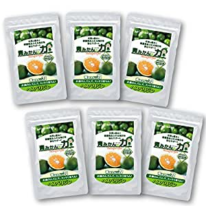 お得なまとめ買い! 花粉対策サプリ「青みかんの力」3カ月分(6袋)セット