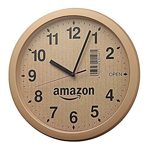 【プライムデー記念発売】リズム時計 段ボール風掛け時計 4KG712CZ06