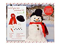 Tiny Ideas Snowman Decorating Kit Perfect Holiday Activity Or Creative Gift [並行輸入品]
