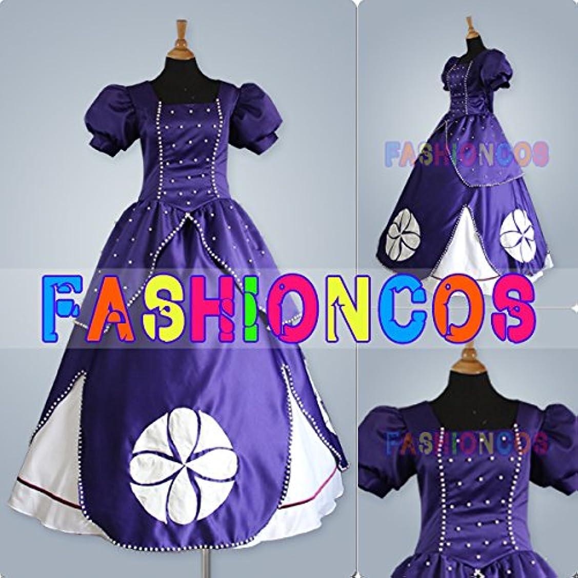 あらゆる種類の人に関する限り焦がす男性XXLサイズ QY024 ディズニー ちいさなプリンセス ソフィア Sofia the First ソフィア コスプレ衣装