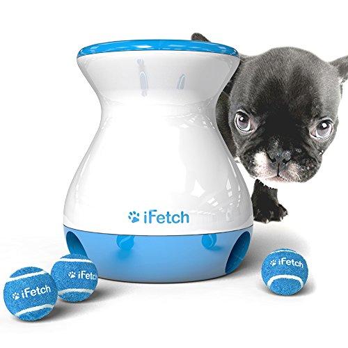 iFetch Frenzy 小型犬~中型犬用 わんちゃん キャッチボールおもちゃ しつけ用 ボール3個付