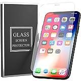 【3枚セット】iPhone11 Pro Max/Xs Max 用 強化ガラス  液晶保護フィルム 業界最高硬度9H 高感度 気泡防止 飛散防止