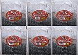 鮭皮100本入り6個セット【釣り餌】【冷凍ツケエサ】