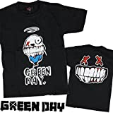 海外製品 グリーンデイ GREEN DAY イラスト ロゴ プリント 半袖 ロック tシャツ [T304] メンズ レディース キッズ ベビー