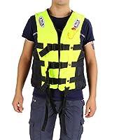 ライフジャケット フローティングベスト 救命胴衣 呼び子付け ホイッスル 反射帯付き 緊急時に役立つ 強い浮力 高い負荷力 安全安心 ベストタイプ 3カラー・5サイズに選択可能 子供用 大人用
