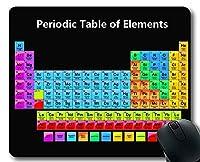 マウスパッド、元素周期表の色周期律表、教育科学厚手ゴム製大型マウスパッド