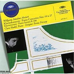 フリッチャイ指揮 ハスキル独奏 モーツァルト ピアノ協奏曲第19番&20番の商品写真