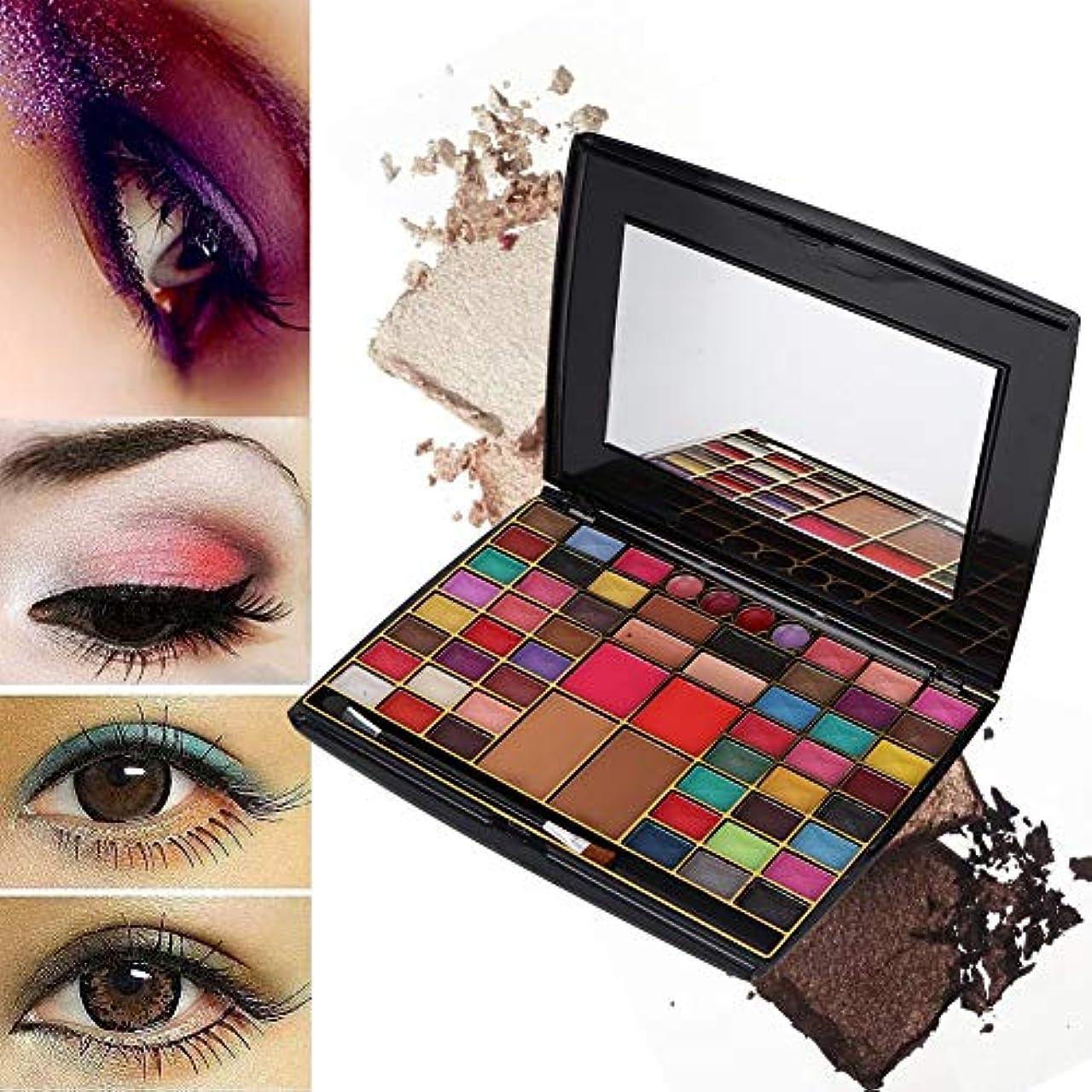 コンパイルヘッジスカウトアイシャドウパレット 化粧マット 60色 化粧品ツール グロス アイシャドウパウダー