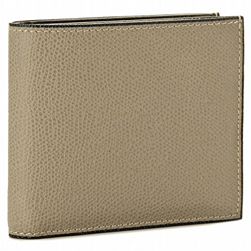 Valextra(ヴァレクストラ) 財布 メンズ グレインレザー 2つ折り財布 グレーベージュ V8L23-028-00TORD[並行輸入品]