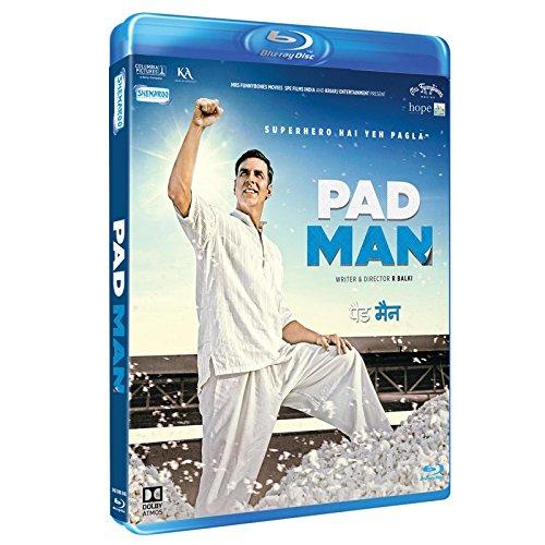 Pad Man Hindi Blu Ray ( All Regions English Subtitles )
