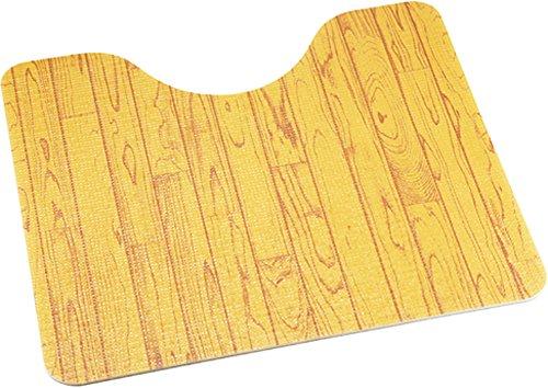 [해외]얼른 빠지다 화장실 매트 나뭇결 무늬 35666/Wipe clean toilet wood grain pattern 35666