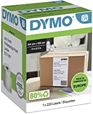 DYMO Authentic LW Extra Large Shipping Labels for LabelWriter 4XL Label Maker/Printer | 104mm x 159mm | Roll o