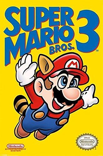 Super Mario Bros. 3 Poster (61...