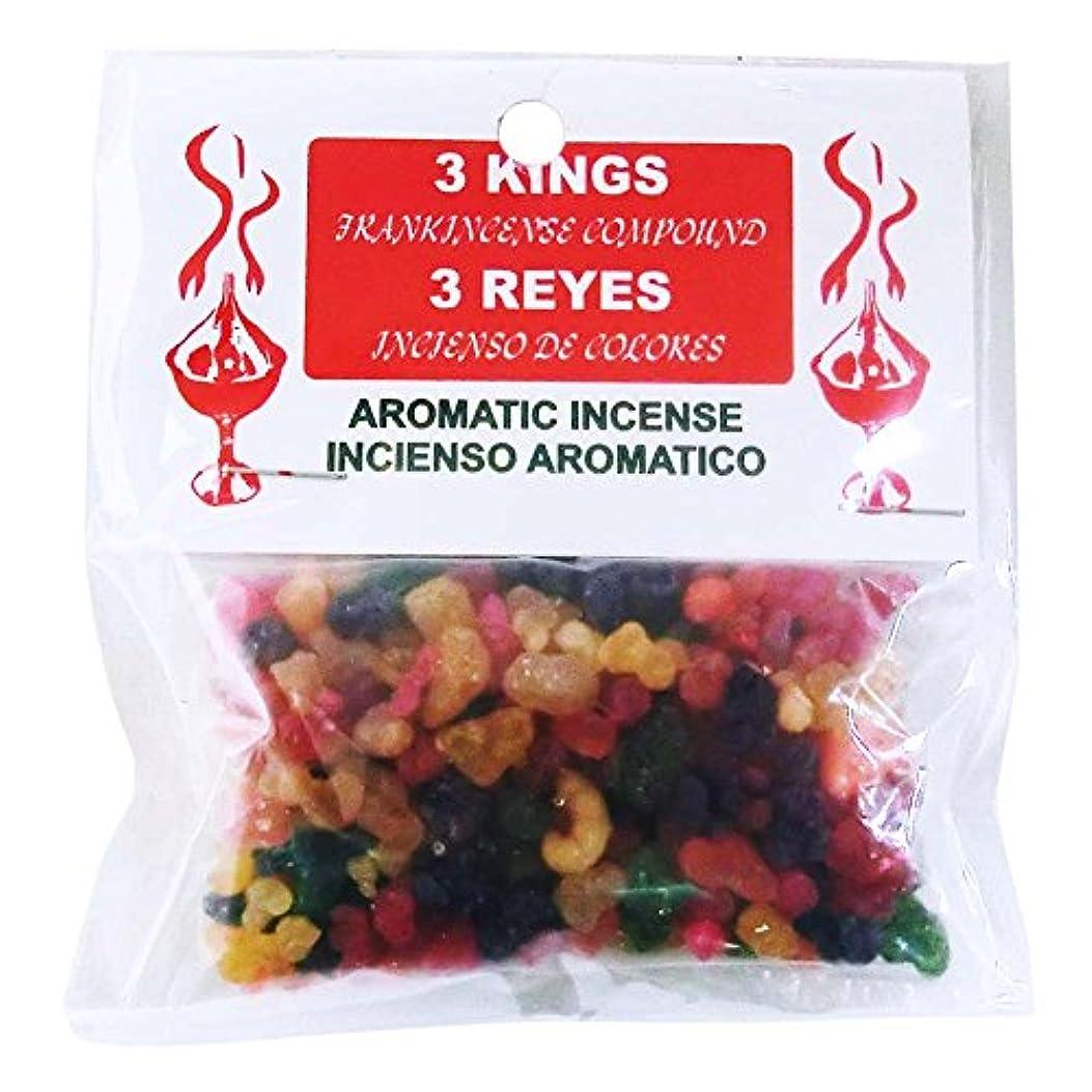 ピアース疎外する時代遅れ3KINGS Resin Incense(ヨルダンの聖別香) Frankincense