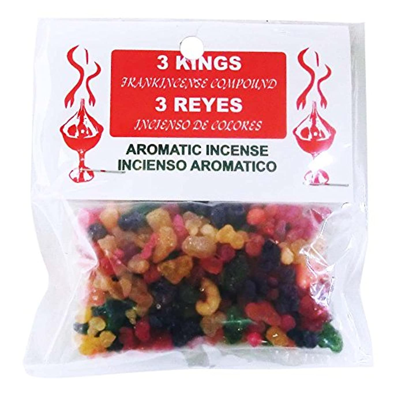 群れ悪性の鎖3KINGS Resin Incense(ヨルダンの聖別香) Frankincense