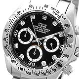 [クリスチャーノ・ドマーニ]Christiano Domani 腕時計 オールステンレス クロノグラフ ブラック CD-2018-9 メンズ