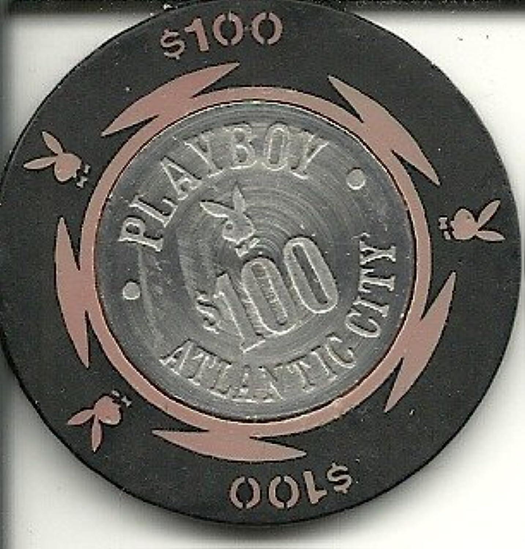 $ 100 Playboy Atlantic City BoardwalkカジノチップRare