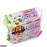 お買い得セット ジョイペット ウェットティッシュ お口・耳・目のまわり用 3個パック ×12個 犬 猫 ペット用ウェットティッシュ