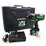 【Amazon.co.jp限定】HiKOKI(ハイコーキ) 旧日立工機 コードレスインパクトレンチ 36V マルチボルト 充電式 WR36DA(XP) 初回修理保証付き 蓄電池1個、充電器、ケース付き