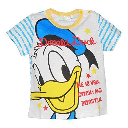 ディズニー【Disney】キャラクタープリントTシャツ (90cm, ドナルド(72))