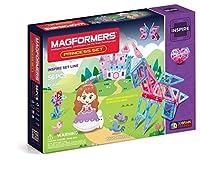 MAGFORMERS Inspire Princess Magnetic Building Set (56 Piece) [並行輸入品]