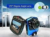 OSEI  ドライブ レコーダー 1080P 170°度 広角 防犯カメラ 録画ドラレコ コンパクト記録 pcカメラ Gセンサー機能あり Web カメラ タクシー トラック 事故防止 コンパクトドライブレコーダー 2.31inch