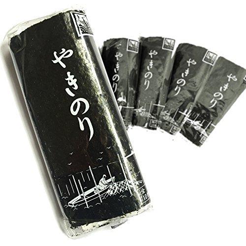 田庄 やきのり 海苔 寿司 高級 バラ 国産 希少 高級寿司屋で使用されているこだわりの焼のり チャック付きジッパーケース入り 10枚入り 5パック