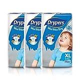 Drypers Wee Wee Dry Diapers, XL, Case, (3 packs )