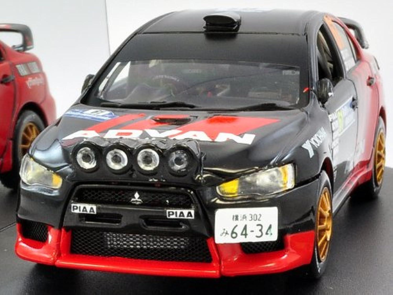 【VITESSE/ビテス】1/43 三菱 ランサーエボリューション X No.61 2009 ラリー北海道 Winner JRC