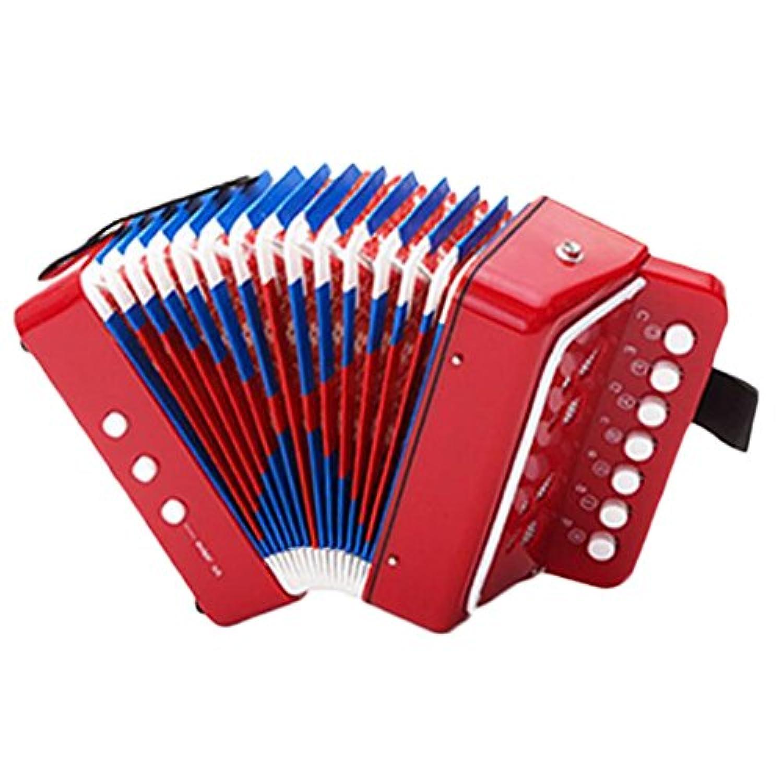 グレート楽器ミニアコーディオン教育子供のおもちゃプレーヤーキッズギフト-A1